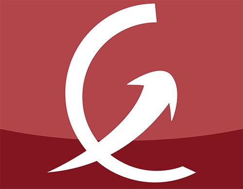 logo de eureko avec flèche montante sur lal ettre E