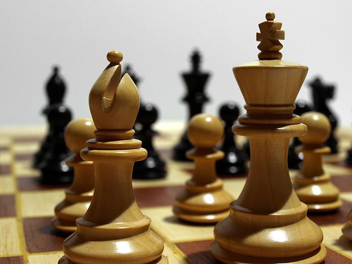 jeu d'échecs, métaphore de la stratégie de gestion d'entreprise